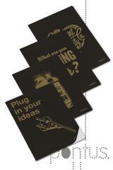 Caderno agraf. clever gold A4 40f 90g pautado