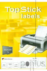 Etiquetas Top Stick A4 ink/laser 96,5X42,3mm 100f