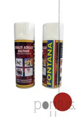Spray acrílico Fontana RAL3002 400ml vermelho