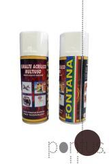 Spray acrílico Fontana RAL8017 400ml castanho choc