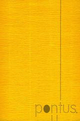 Papel crepom 2.5x0.5m amarelo torrado