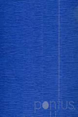 Papel crepom 2.5x0.5m azul marinho