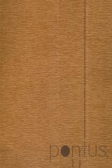 Papel crepom 2.5x0.5m castanho