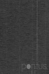 Papel crepom 2.5x0.5m preto