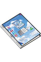Portfólio Ambar A4 PP c/20 bolsas preto c/capa p.