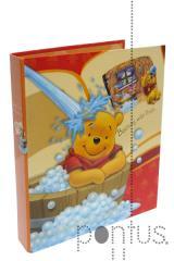 Pasta arquivo Winnie The Pooh A5 L/E 2 argolas