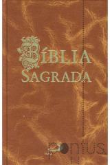 Bíblia Sagrada de bolso (castanha)