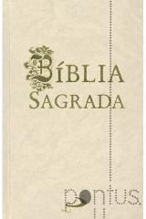 Bíblia Sagrada Paulus (média encadernada branca)