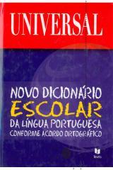 Novo dicionário escolar Língua Portuguesa