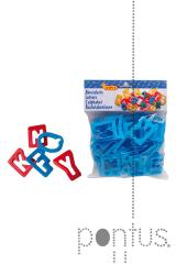 Complementos Jovi plásticos (letras). ref.7A