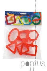 Complementos Jovi plásticos (fig. geométr.) ref.21