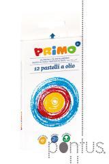 Pastel óleo Primo c/12 cores