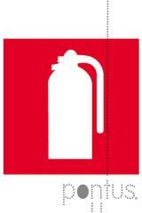Etiquetas Apli permanentes 841 extintor