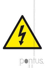 Etiquetas Apli permanentes 10951 risco elétrico
