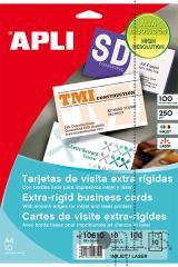 Papel Apli cartões de visita ríg. 250g 10f branco
