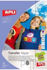 Papel transferência têxtil p/fundo escuro A4 5f