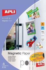 Papel tranferência magnético Apli A4 8f