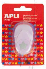 Perfurador Apli p/papel 16mm figura estrela