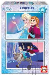Jogo Educa puzzle 2x20 Frozen