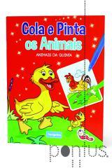 Cola e pinta os animais - Animais da quinta