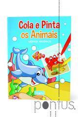 Cola e pinta os animais - Animais marinhos