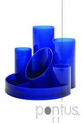 Desk organizer Helix azul
