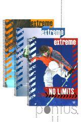 Caderno esp. c/dura Unipapel A4 120f 70g pautado