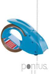 Desenrolador Tesa p/fita adesiva cor azul + 1 rolo