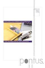Bolsa almofadada kraft nº14 180x260 - pac. c/10