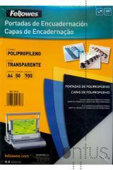Capa encad. pp A4 700mic. transp. (50 unid.)