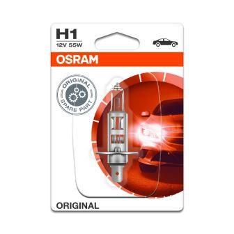 LAMPADA HALOGENIO OSRAM H1 12V55W P14.5S BLISTER 1UNI