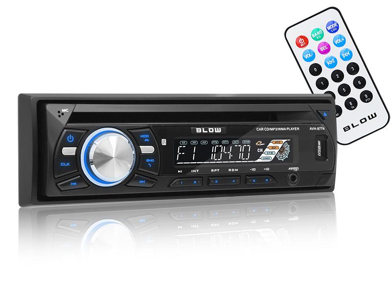 AUTO-RADIO BLOW AVH-8774 MP3/USB/SD/MMC/BT/CD