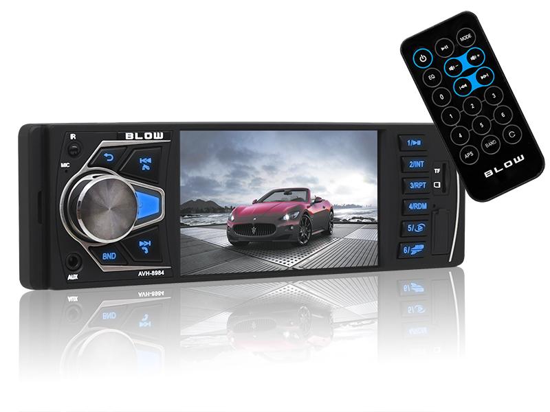 AUTO-RADIO BLOW AVH-8984 LCD 4POL MP5/USB/SD/MMC/BT