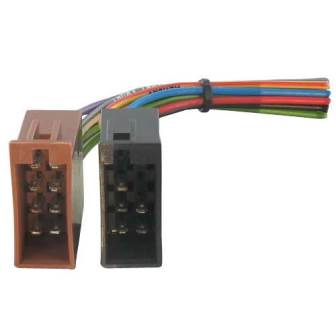 Adaptador radio 4 vias - 2X8 pinos ISO Femea