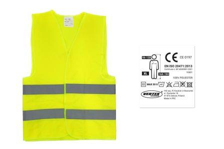 COLETE REFLETOR EN ISO 20471:2013