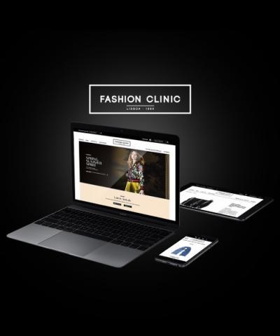 Fashion Clinic confia Loja Online à LVEngine