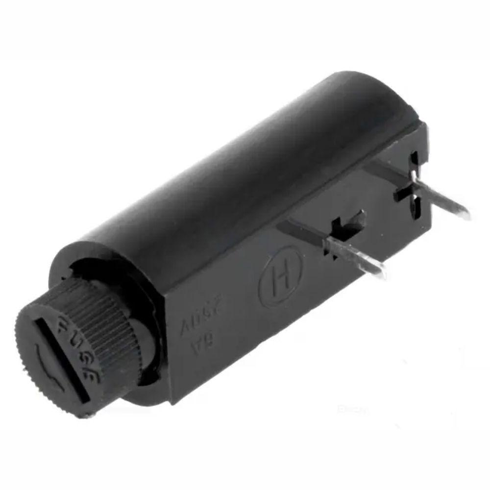 Suporte Fusível 5x20 Tubular Montagem Horizontal