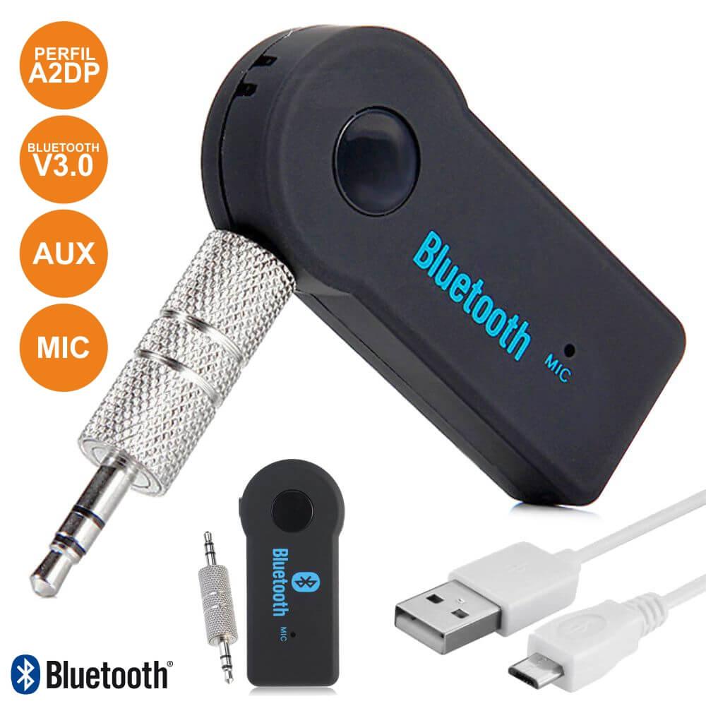 Receptor Áudio Bluetooth C/ Adaptador Aux