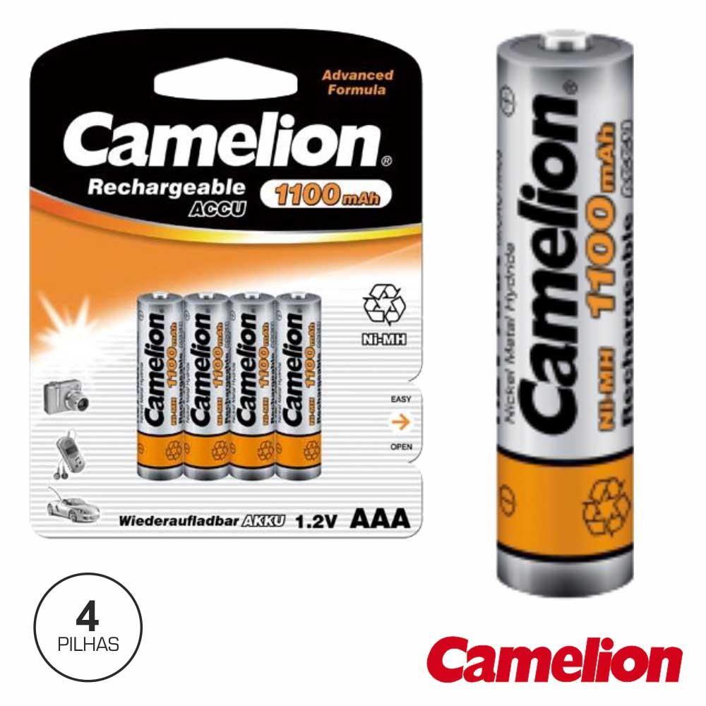 Bateria Ni-Mh Aaa1.2v 1100ma 4x Blister Camelion
