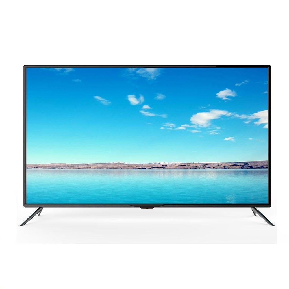 TV LED 55 UltraHD 4K SMART TV ANDROID c/ Sintonizador TDT e Cabo - SILVER