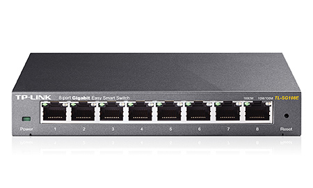 Hub Interruptor 8 Peos 10/100/1000 Tp-Link Tl-Sg108e