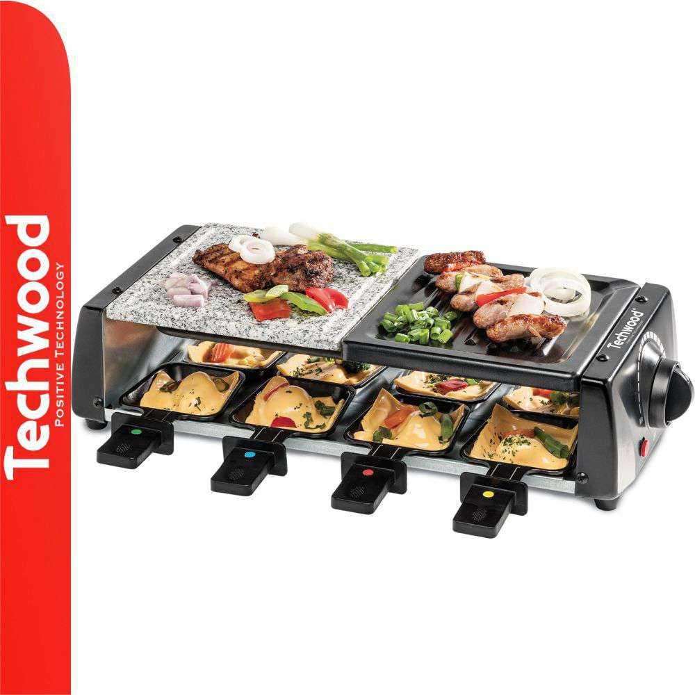 Grelhador Raclette 8 Pessoas 1200W TECHWOOD