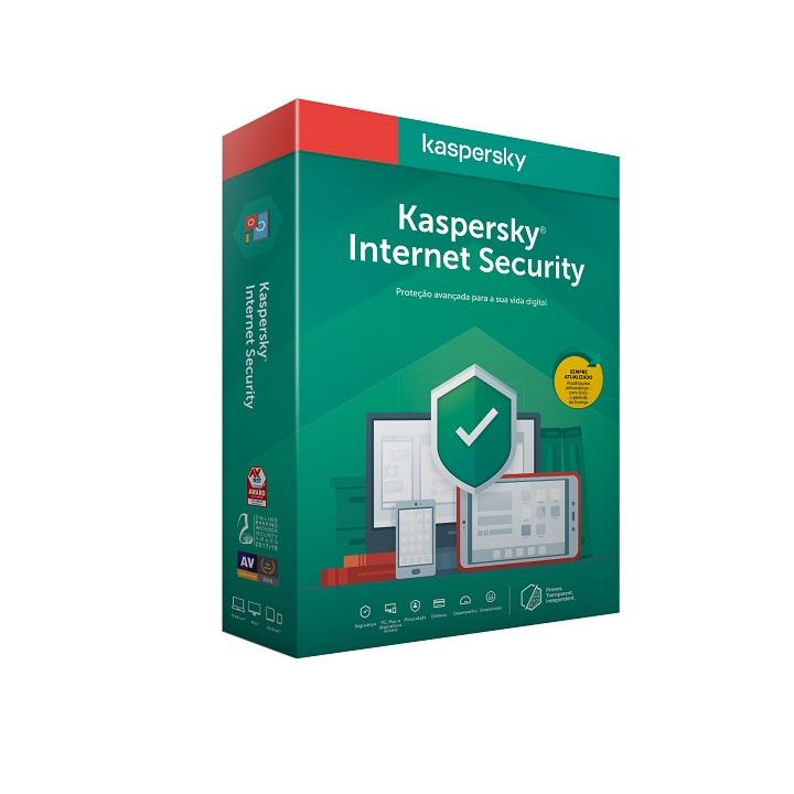 Antivírus Kaspersky Internet Security 2020 - 1 Dispositivos | 1 Ano