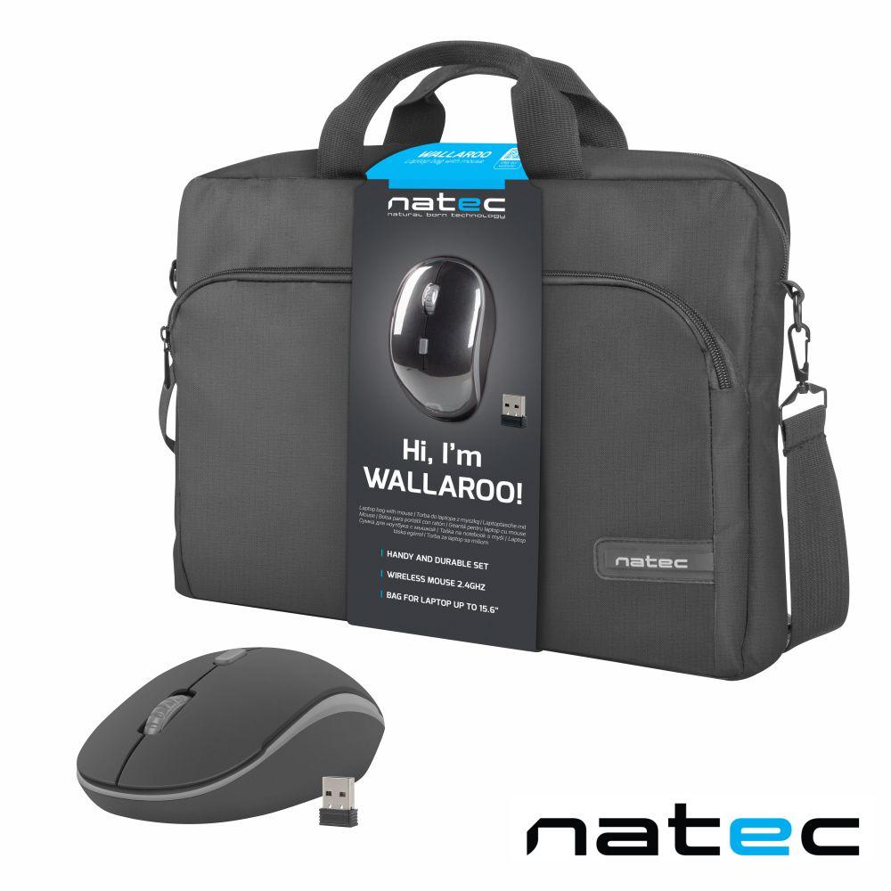 Mala P/ Computador 15.6 C/ Rato Wireless NATEC