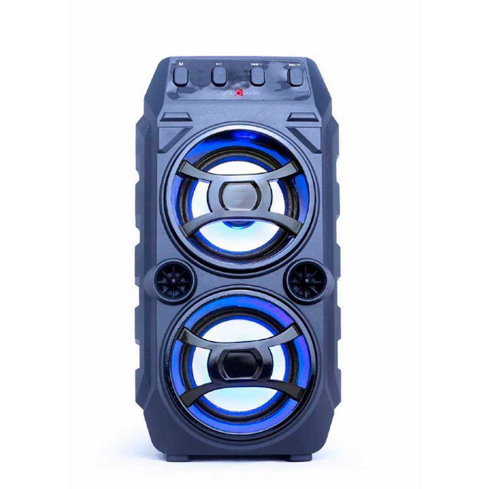 Coluna Gembird Bluetooth Com Karaoke Preta