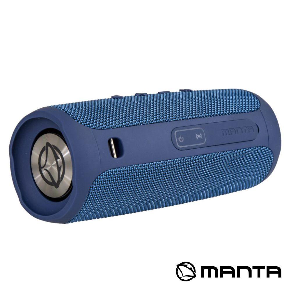 Coluna Bluetooth Portátil 2x5W USB/SD/FM/AUX/Bat MANTA
