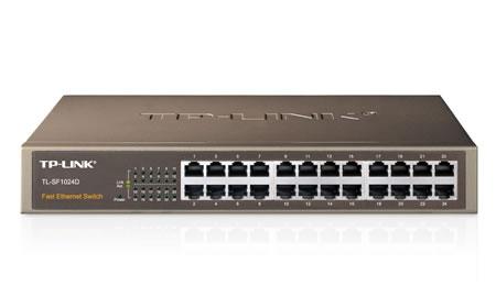 Hub Comutador 24 Peos 10/100 Tp-Link Sf1024d